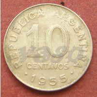 6302:  10 сентаво 1955 Аргентина