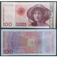 Норвегия. 100 крон (образца 2006 года, P49c)