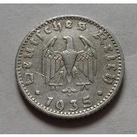50 пфеннигов, Германия 1935 D