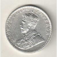 Британская Индия 1 рупия 1913