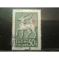Финляндия 1942 Герб города на Аландах