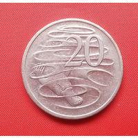 72-37 Австралия, 20 центов 2006 г.