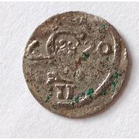 Двуденарий 1620 г. Монета из старой коллекции.