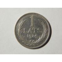 Латвия 1 лат 1924г