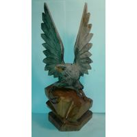 """Статуэтка """"Орел со змеей"""",дерево,СССР,Львов, 60-е года."""