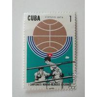 Куба 1974. Чемпионат мира по любительскому боксу.