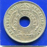 Британская Западная Африка 1/2 пенни 1936