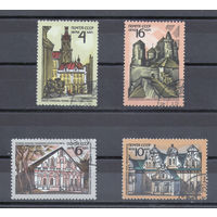Архитектурные памятники СССР 1972 год (4147-4150) серия из 4-х марок.