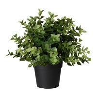 Искусственное растение в горшке Икеа