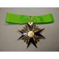 Крест орден Чёрного Орла Германия Пруссия рыцарский 1 ст (с шейной лентой)
