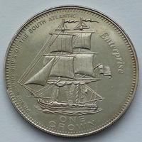 Тристан-да-Кунья. 1 крона. Каперские суда Южной Атлантики - Enterprise. 2006