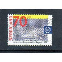 Нидерланды. Ми-1245. Конференция Европейского Парламента. 1984.