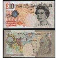 Сувенир - Великобритания 10 фунтов na04 торг любой