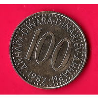 49-23 Югославия, 100 динар 1987 г.