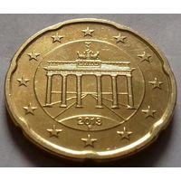 20 евроцентов, Германия 2013 F, AU
