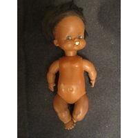 Кукла . Черепашка . Негритянка .23 см.