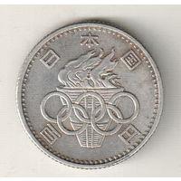 Япония 100 йена 1964 XVIII летние Олимпийские Игры, Токио 1964