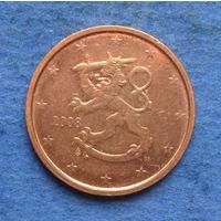 Финляндия 2 евроцента 2008