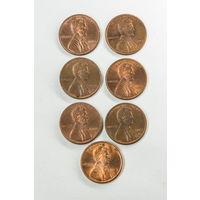1 цент США 1993 D. Поштучно