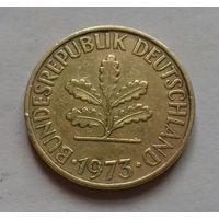 10 пфеннигов, Германия 1973 D