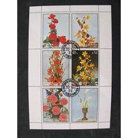 Шарджа 1972 Цветы