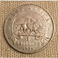 Восточная Африка, 1 шиллинг 1924 серебро