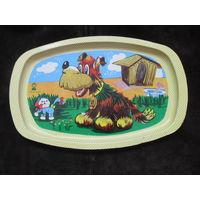 Поднос для игрушечной посуды . СССР