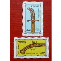 Польша. День марки. Оружие. ( 2 марки ) 1981 года.