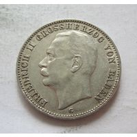 Баден Германская империя 3 марки 1908 - пореже