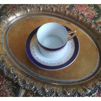 Кофейная пара чашка (кружка) + блюдце фарфор E. Haberlander & W. Eschenbach