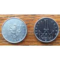 Чехия, 1 крона 1997