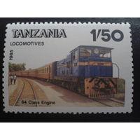 Танзания 1985 поезд