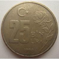 Турция 25000 лир 1998 г. (g)
