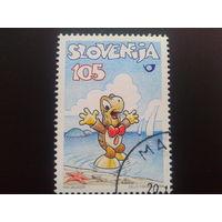Словения 1998 комиксы