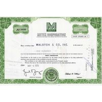 METEX CORPORATION, США