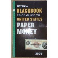 BLACKBOOK  U.S. PAPER MONEY 2009г.