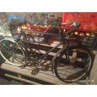 Старинный  велосипед Школьник начало 60г.