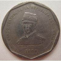 Доминиканская Республика 25 песо 2008 г.