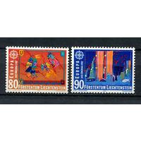 Лихтенштейн - 1992 - Европа. Открытие Америки - [Mi. 1033-1034] - полная серия - 2 марки. MNH.