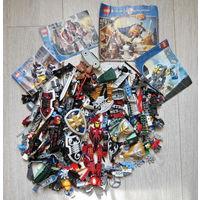 """Лего и др... Элементы... основа лота - Лего из серии """"Knights Kingdom""""... """"Рыцари королевства""""... более 500 элементов... более 1 кг., состояние хорошее + описания..."""