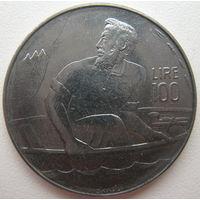 Сан-Марино 100 лир 1972 г. (d)