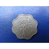 Свазиленд 10 центов 1975 г.