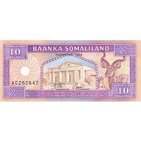 Сомалиленд 10 шиллингов 1994 UNC