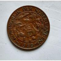 Суринам 1 цент, 1960 2-12-53