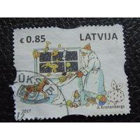 Латвия 2017г. Рождество.