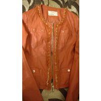 Новая стильная куртка из эко кожи. Германия