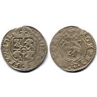 Полторак 1617, Сигизмунд III Ваза, Краков. Рв - Сас в фигурном щитке, в конце легенды Хаки