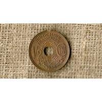 Индокитай Французский 1/2 цента 1938 /// (ON)