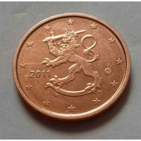 2 евроцента, Финляндия 2011 г., AU