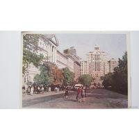 Улица Ленина г.Киев  1959г
